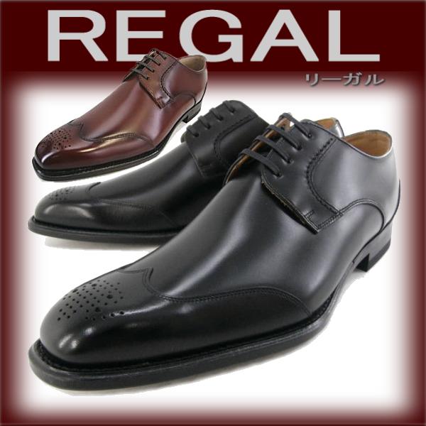 Legal business wing tip ❑ REGAL 123R AL men's wingtip shoes business Regal leather cowhide leather shoes _ _