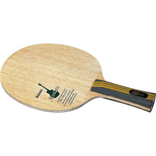 ニッタク アコースティック FL NTA-NE6760 シェークハンド卓球ラケット