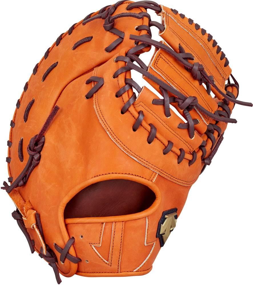 デサント(DESCENTE)軟式野球用グラブファーストミット一塁手用オレンジ(ds-dbbljg53-org)