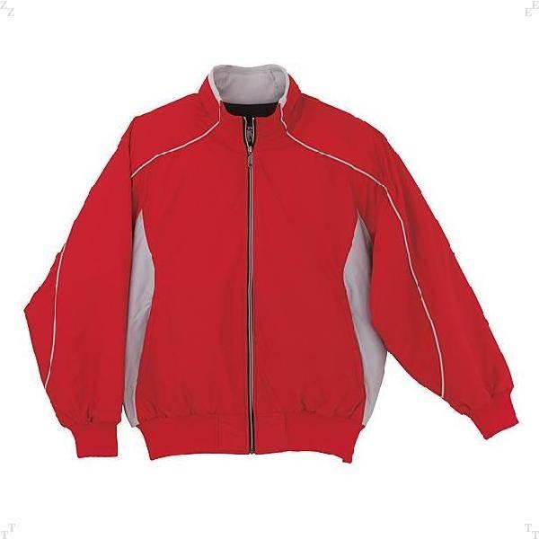 デサント(DESCENTE)エラスチックチタンサーモジャケットレッド(ds-dr215-red) メンズ 男性用 スポーツウェア ウエア 長袖 あったか 暖かい 暖か 軽い 軽量 ストレッチ トップス ジャンパー グラコン リブ