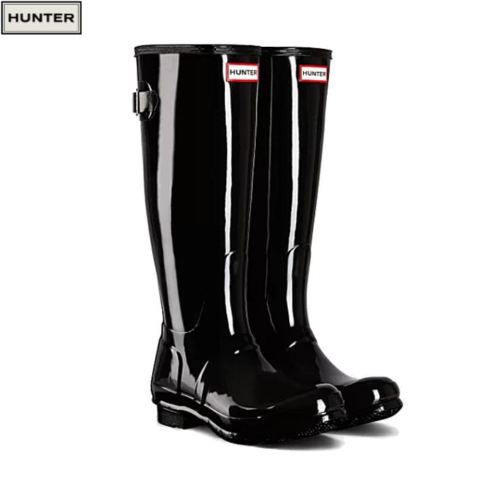 送料無料 ハンター レインブーツ オリジナル トール グロス アジャスタブル ブーツ HUNTER ORIGINAL TOUR WFT1001RGL 長靴 雨靴