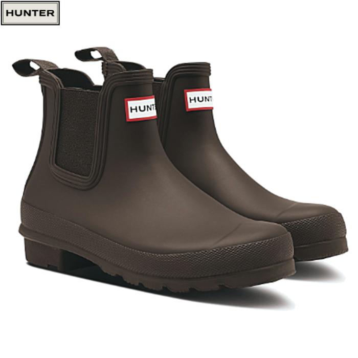 送料無料 ハンター レインブーツ オリジナル チェルシー ブーツ HUNTER ORIGINAL CHELSEA WFS1043RMA レディース 防水 雨靴