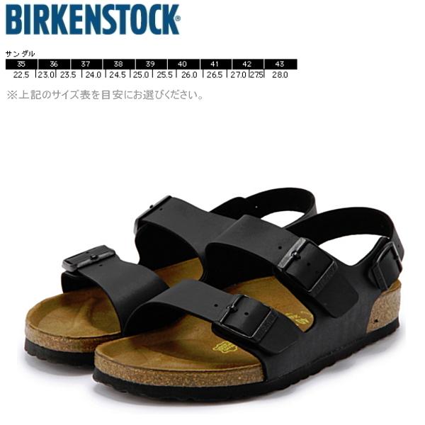 ビルケンシュトック ミラノ BIRKENSTOCK Milano メンズ・レディース サンダル ブラック 靴 メンズ靴 レディース靴 おしゃれ 黒 つっかけ 034791/034793 【PDPD-08llc】●