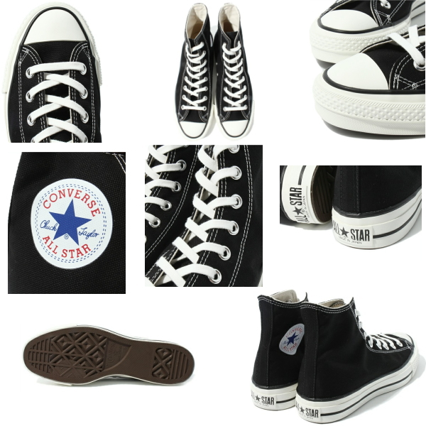 匡威高cut全明星女士人CONVERSE CANVAS ALL STAR J HI帆布全明星J HI ○