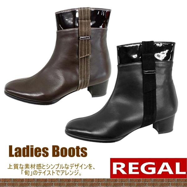 リーガル REGAL ショート ブーツ [F35C] 本革 日本製 レディース ショート ブーツ MADE IN JAPAN【NHNH-13htc】【40of】● 【16FBoff】【RE】