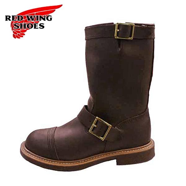 正規品 RED WING 8121 IRONSMITH レッドウィング アイアンスミス REDWING エンジニアブーツ ブーツ ブラウン 茶色 メンズ 男性 靴 カジュアル 大人 かっこいい レザー 本革 革靴 26.0cm 26.5cm 27.0cm 27.5cm