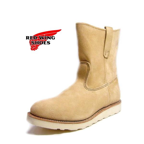 レッドウィング ペコス REDWING○正規品RED WING 8168 レッドウィング 9inch ペコス ブーツ ベージュスエード レッドウイング レッド・ウィング boots 【17tpvdl】