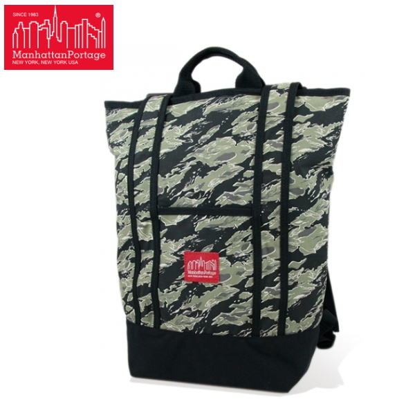 マンハッタンポーテージ 限定 バックパック Manhattan Portage Tiger Stripe Camo Riverside Backpack 1318TSCバッグ かばん 鞄【OJOJ-08hlfp】●