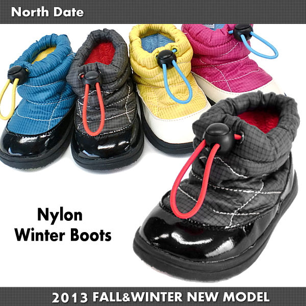 Kids boots North Date north date MEG 1303 down-like winter boots kids boots ●