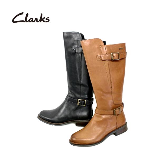 クラークス Clarks ロングブーツ [322F] MARA VALE GTX 本革 レディース ロングブーツ【NHNH-13vvhc】【4of】● 【16FBoff】【RE】