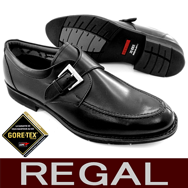 REGAL rigaru 624R rigarubijinesu regal僧侣吊带商务鞋书皮革