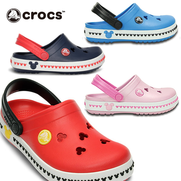 2dc4e85c4438b Child sandals clog ○ clocks kids Mickey clock band Mickey of the clocks kids  Mickey clock ...