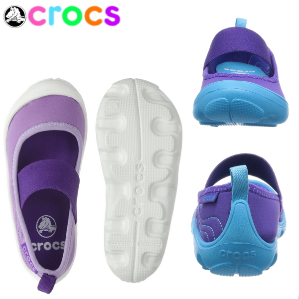 3e72c7242e4f Lightweight ballet shoes for the clocks duet busy D Mary Jane crocs Duet  Busy Day Mary Jane Ps 15353 kids child ○