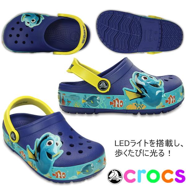 小孩钟表钟表权利发现·移动摄影机椰子小孩crocslights finding dory ciog kids 202881 crocs●