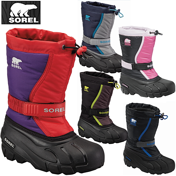 Sorrel kids snow boot Sorrel SOREL Flurry TP フルーリー TP NC1810 kids winter  boots kids boots cold protection boots○