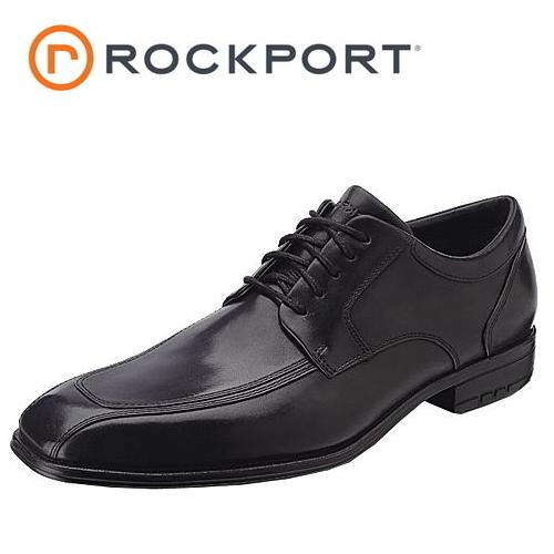 □ROCKPORT lock port 57764 Fairwood Moc Front Wp fair Wood mock front desk [black] U チップスワールトゥメンズビジネシューズ