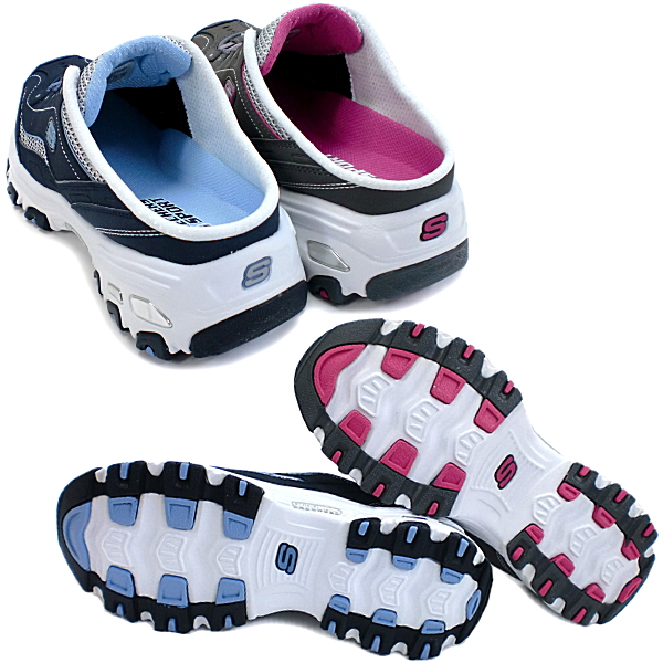 suketchazusandaru厚底运动鞋SKECHERS DLITES-ESSENTIAL[1万1633]kuroggusandarusabo厚底凉鞋运动鞋ladies skechers ●