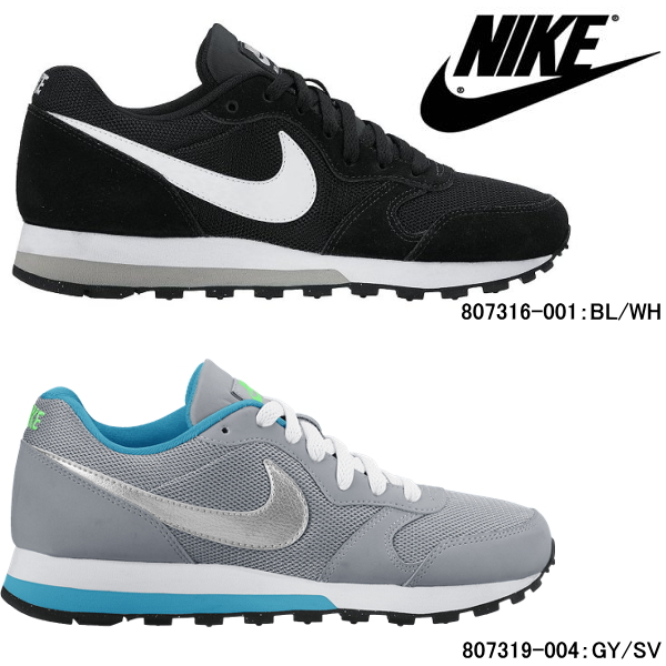 Nike MD runner 2 GS youth Lady's sneakers retrorunning shoes 807316/807319 Nike  NIKE○