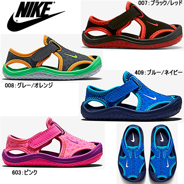 Nike sun lei protection NIKE SUNRAY PROTECT TD [344925/344993] baby kids sandals ●