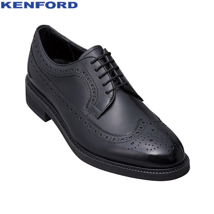 ケンフォード メンズ ビジネスシューズ KENFORD KN35AAJ ウイングチップ 紳士靴