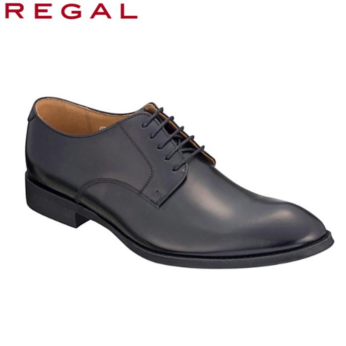 柔らかな丸みをもったつま先の ビジネスシューズです 引出物 キメが細かい質の高いレザーは しっとりとした質感 履きシワになりにくい 美しい素材 リーガル 新作 大人気 REGAL 靴 メンズ 810R プレーントゥ 日本製 2E ビジネスシューズ 紐靴 男性 おしゃれ 黒 ブラック シューズ 本革 ビジネス