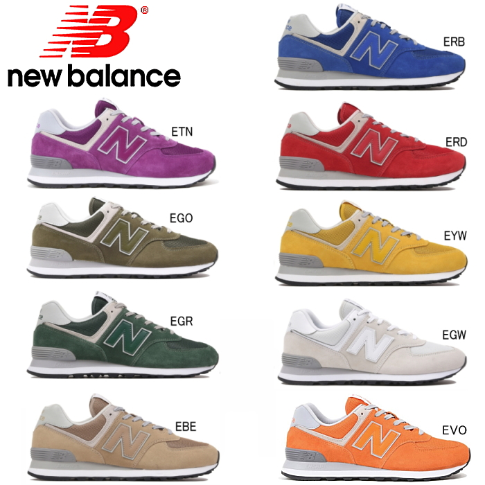 outlet store b1594 206cb New Balance 574 New Balance ML574 men gap Dis shoes sneakers New Balance  regular article suede casual men shoes Lady's shoes fashion white red khaki  ...