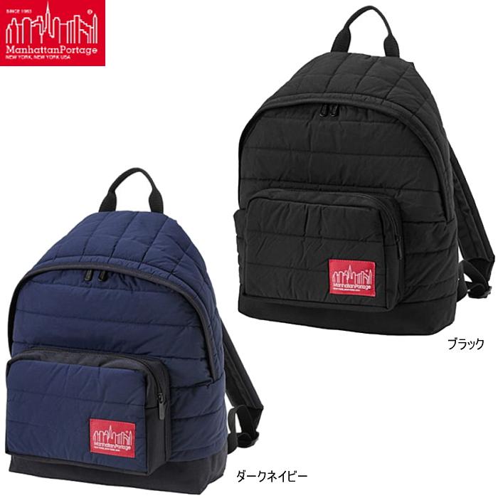 マンハッタンポーテージ リュックサック Manhattan Portage Quilting Fabric Big Apple Backpack MP1209QLT19