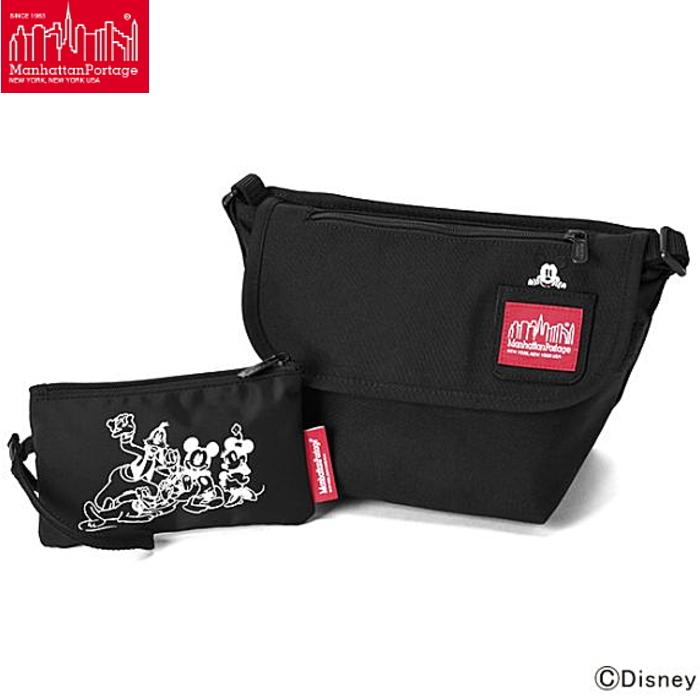 マンハッタンポーテージ ミッキーマウス コレクション カジュアル メッセンジャーバッグ MP1603MIC19 Manhattan Portage Mickey Mouse Collection Casual Messnger Bag