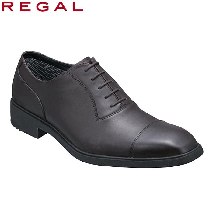 送料無料 14時まであす楽対応 リーガル 靴 メンズ REGAL 31PRBE ブラウン ビジネスシューズ ストレートチップ 2E 本革 ゴアテックス