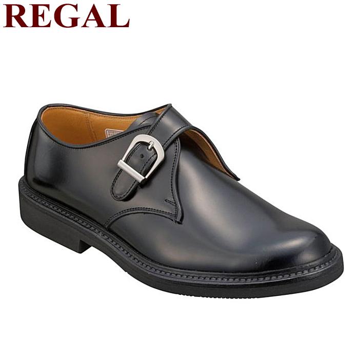 リーガル 靴 メンズ モンクストラップ 日本製 REGAL JU16AG ビジネスシューズ 紐なし 通勤 天然皮革