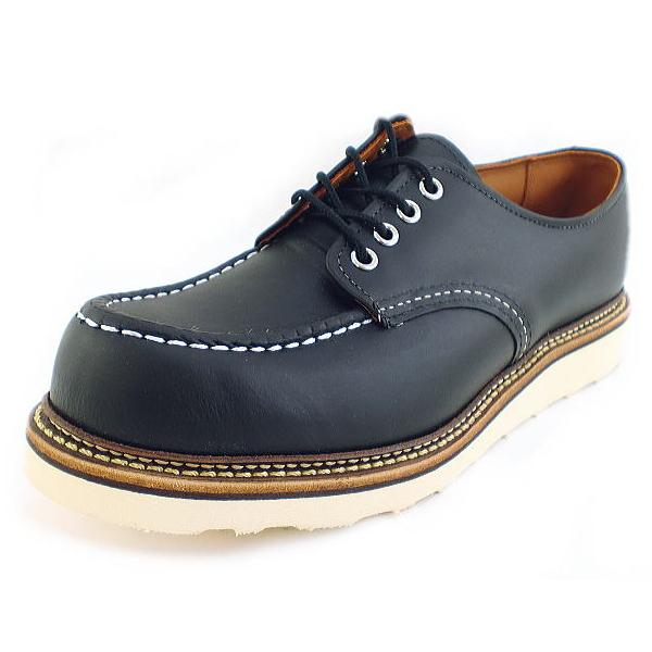 レッドウィング 8106 【豪華シューケアセット3点付】正規品 RED WING 8106 レッドウイング オックスフォード 靴ケア用品 set ブラック 黒 メンズ 男性 靴 シューズ カジュアル 大人 かっこいい 本革 革靴 24.5cm 25.0cm 25.5cm 26.0cm 26.5cm 27.0cm 27.5cm 28.0cm