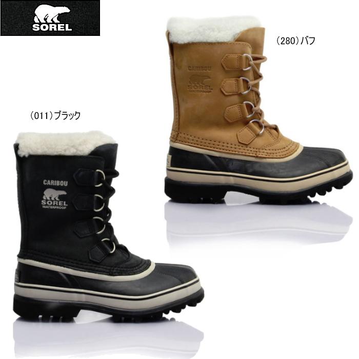 ソレル カリブー 1005 ウィメンズ スノーブーツ SOREL Caribou NL1005 防寒ブーツ ウィンターブーツ