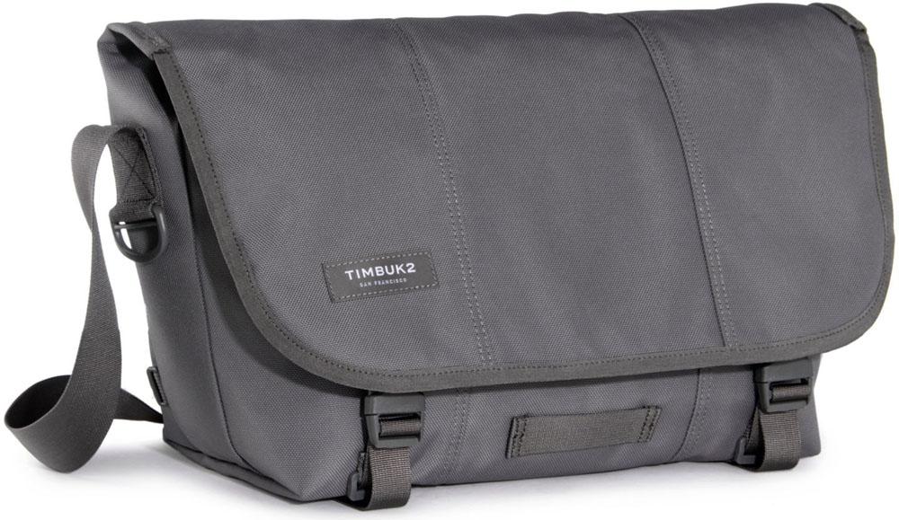 TIMBUK2(ティンバック2) HERITAGE Classic Messenger M(クラシックメッセンジャー M) Gunmetal 110842003 カジュアル バッグ カジュアル バッグ メンズ バッグ 軽い 軽量 b4ショルダーバッグ メッセンジャーバッグ 斜め掛け グレー 通勤 通学 大きめ