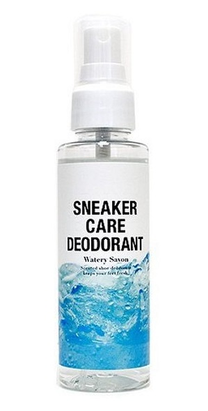 植物抽出物を主成分にした スニーカー向け 消臭 除菌スプレーです コロンブス 抗菌 人気ブレゼント ウォータリーサボンの香り スニーカーケア 日本 デオドラント