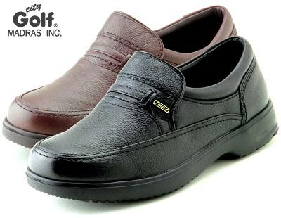 脱ぎ履き簡単 幅広 甲高の方にもおススメな幅広モデル city Golf メンズ マドラスシティゴルフ 普段履き カジュアル GF902 受注生産品 ビジネス 大幅値下げランキング 4Eモデル スリッポン