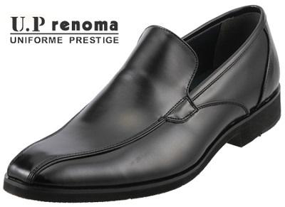 大放出セール 通勤や営業に最適 軽量で通気性の良いビジネスシューズ U.P renoma メンズ U3558 マドラス スリッポンシューズ ユーピーレノマ 輸入