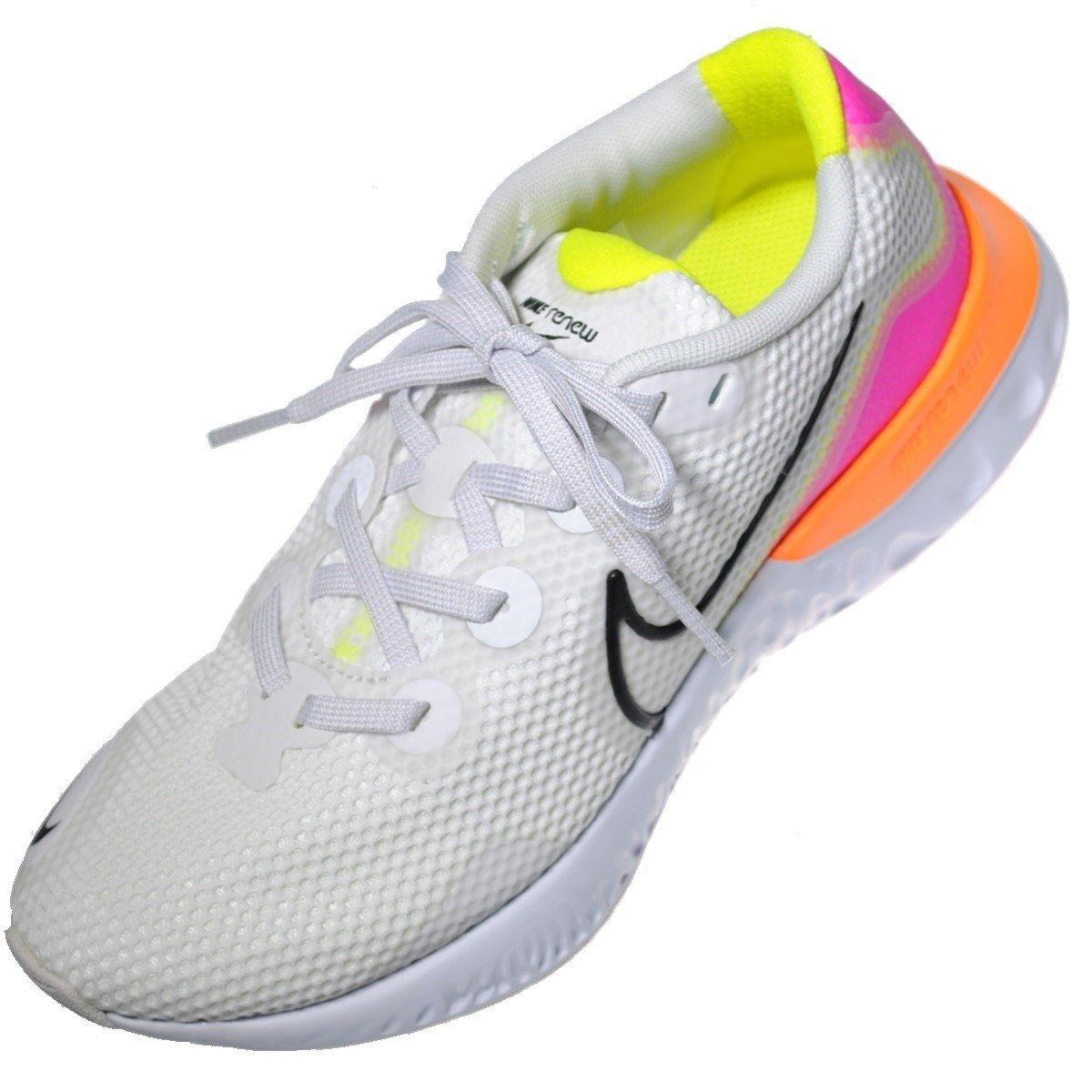 ナイキ レースアップシューズ 公式ショップ スニーカー ランニング 靴のHOSHIKAWA NIKE レースアップ運動靴 CK6360 メッシュ ホワイト23cm~25.5cm 注文後の変更キャンセル返品 レディーススニーカー