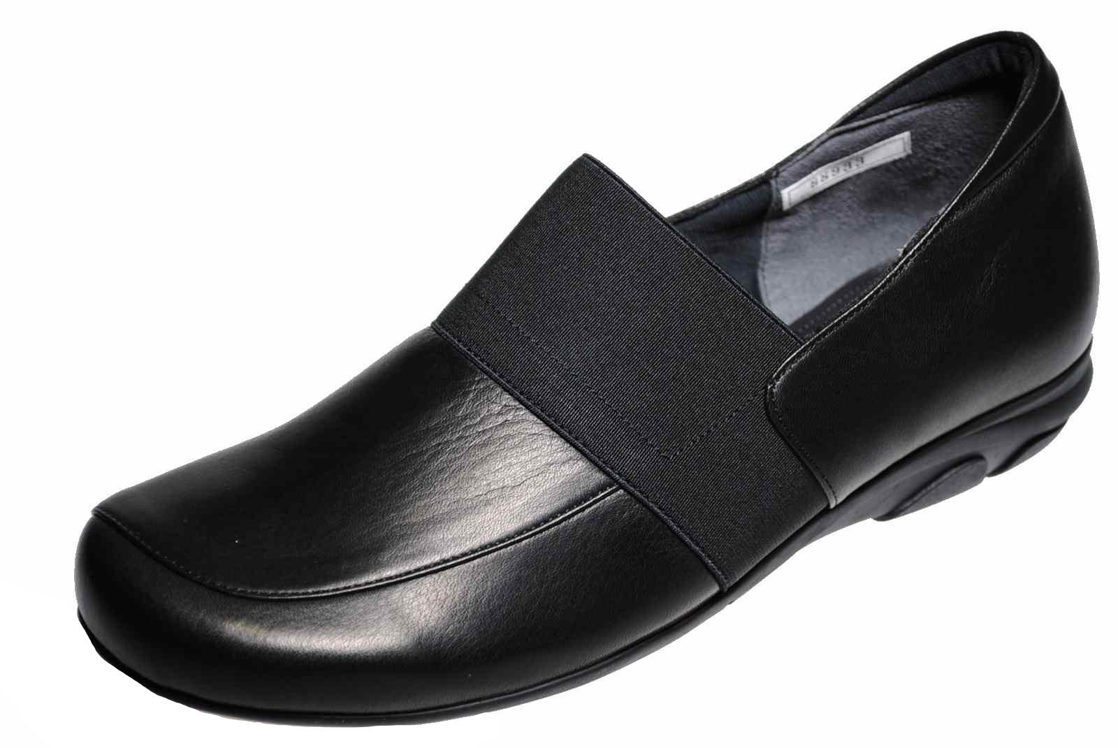 スリッポン 日本製 お中元 牛革 防滑 オブリークトウ 外反母趾 毎日激安特売で 営業中です 3E 靴のHOSHIKAWA MONET EEEレディース 幅広 モネ スリッポンレザーシューズ 88933 ブラック21cm~24.5cm