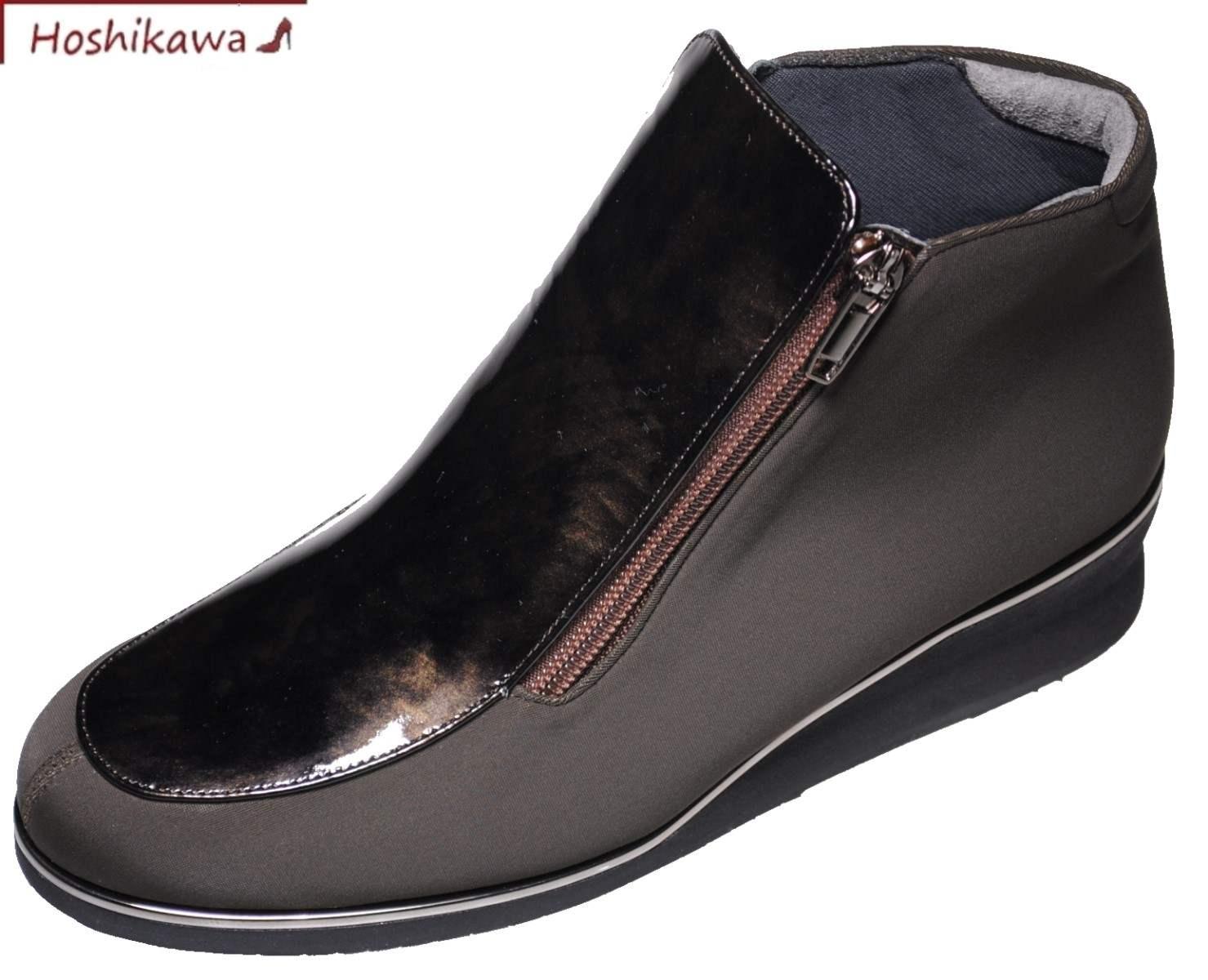 【靴のHOSHIKAWA】 『MONET 333901』22cm~24.5cmブーティー