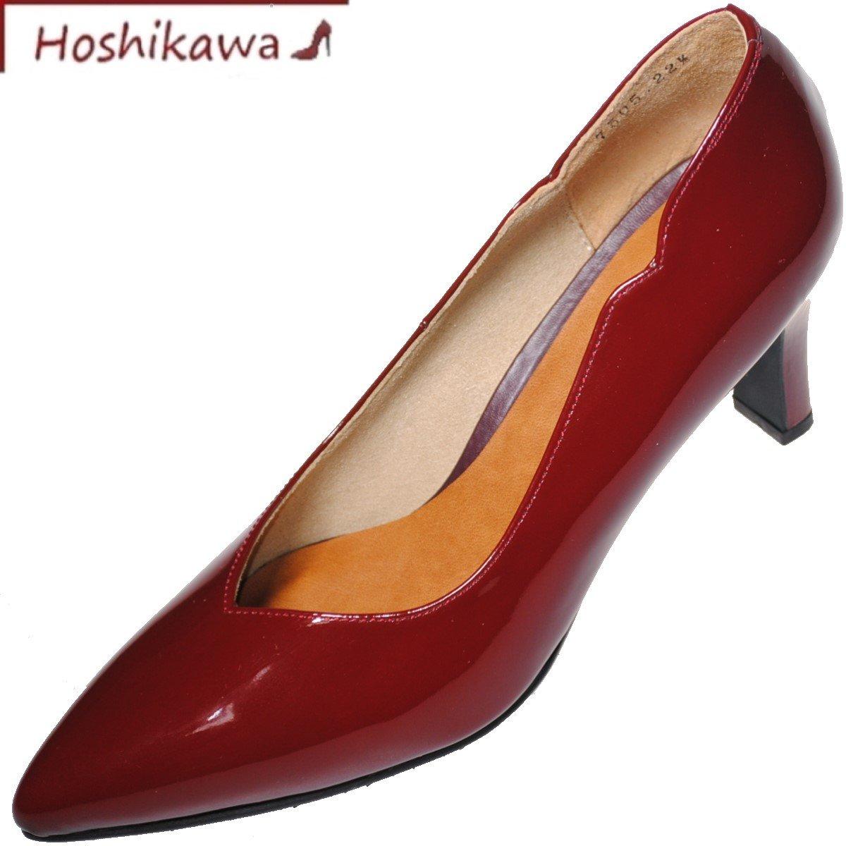 Miss 日本製 ボルドーフォーマル 『Dona 本革ヒール 【靴のHOSHIKAWA】 レディースドナミス 7505』21.5cm~24.5cm ビジネス