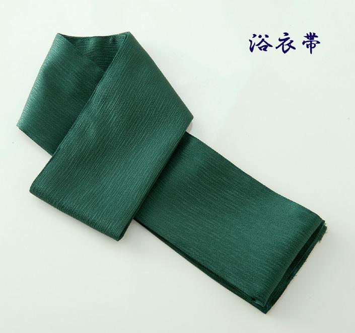 ゆかた帯 カラー:濃緑 出荷 浴衣帯 超人気 おび 和風