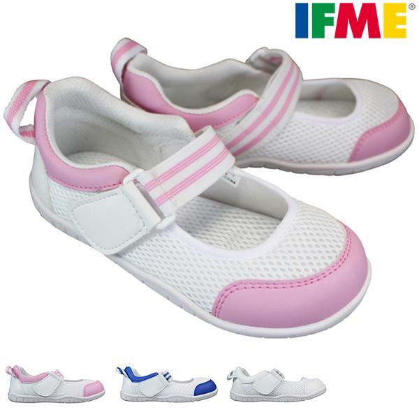 人気の子供用上履き♪ イフミー IFME SC-0003 キッズスニーカー スクールシューズ キッズシューズ 屋内シューズ うわぐつ 上履き 子供靴 上靴 子供 バレエシューズ マジックテープ SC0003 丸紅フットウエア