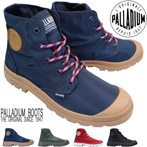 パラディウム PALLADIUM 76357 Pampa Puddle LT+WPD 防水靴 パンパ パドル ライト メンズ レディース ハイカットスニーカー シューズ 靴 紐靴 タンクソール