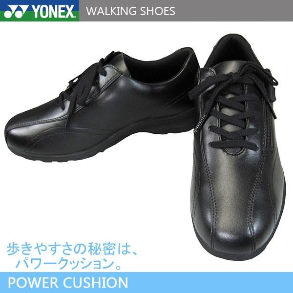 YONEX ヨネックス パワークッション レディース ウォーキングシューズ LC30W 4.5E 黒 SHWLC30W トラベルシューズ