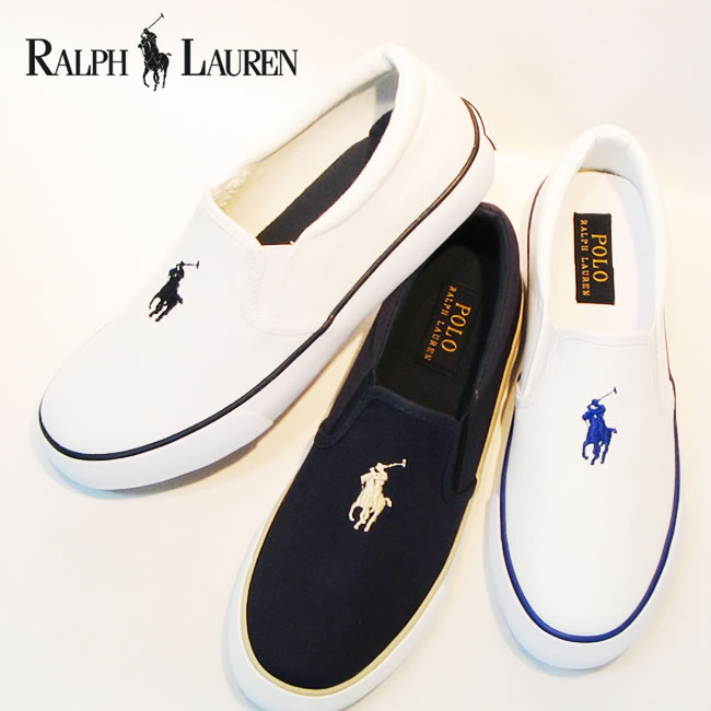 POLO RALPH LAUREN SETH SRIPON polo Ralph Lauren Seth slip-on sneakers  Lady s white   navy white   royal blue navy   beige slip-ons shoes (SETH  SRIPON) b93614710a