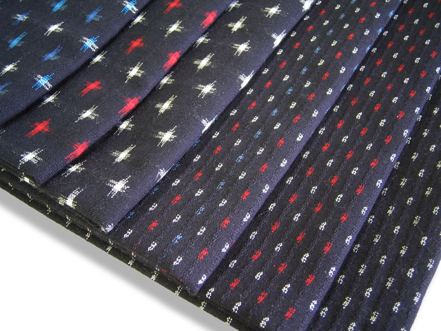 Kurume texture cotton cloth ★ cloth with splashed pattern pattern ★ product made in Japan fs3gm which I stab you, and there are looks and the manner of a child the right side and the wrong side in