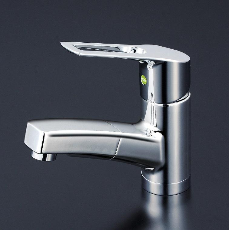 【KM8001ZTEC】洗面用シングルレバー式混合栓(eレバー)