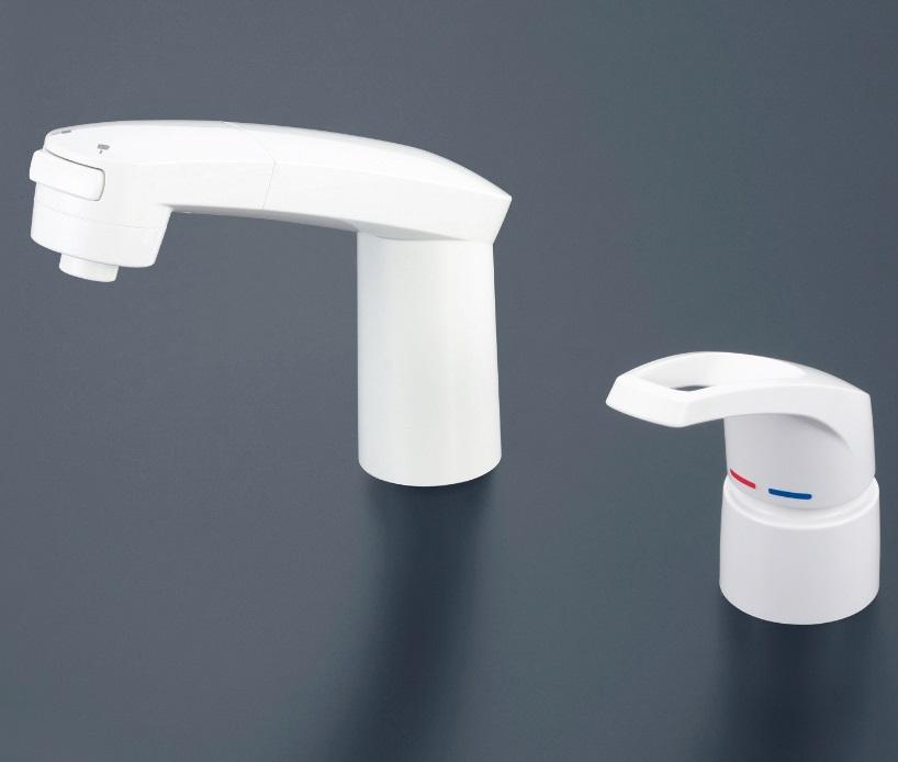 【KM8007ZS2】洗面用シングルレバー式シャワー