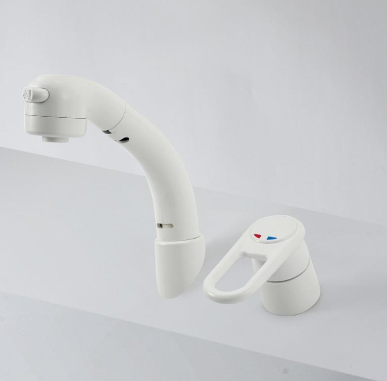 【KM8019Z】洗面台用シングルレバー式シャワー