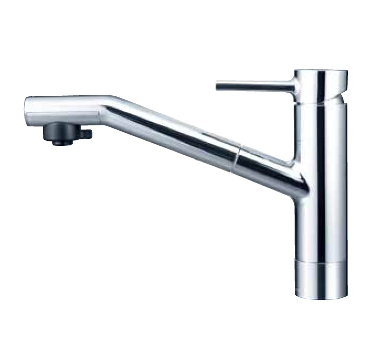【KM908Z】流し台用シングルレバー式シャワー付混合栓